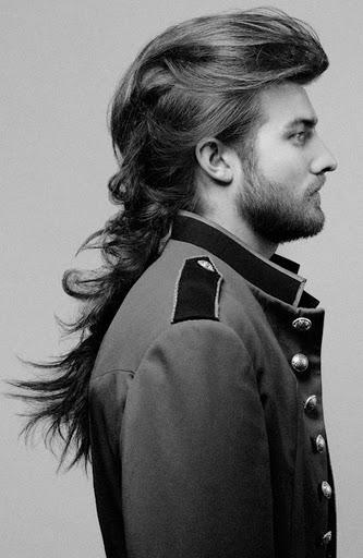 Long peinados para los hombres