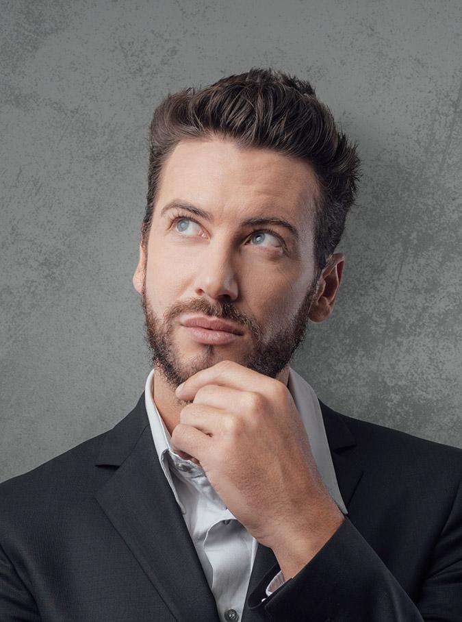 Corte de cabello para los individuos con caras redondas
