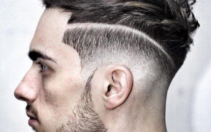 Definir su estilo con la línea arriba del corte de pelo