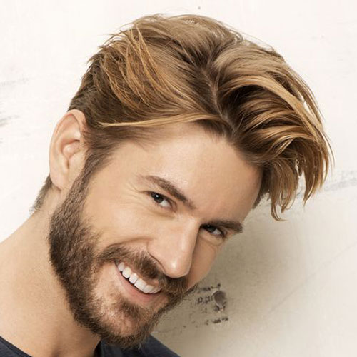 Rubia masculinos Cortes de pelo