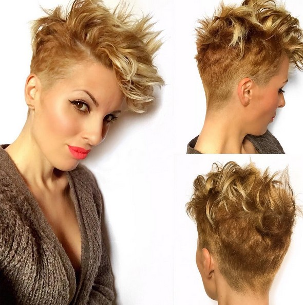Chic-Short-Haircuts-for-Fine-Hair-Brown-and-Blonde-Balayage-Hairstyles