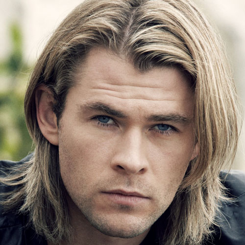 Chris Hemsworth corte de pelo