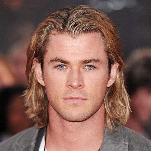 Chris Hemsworth pelo -