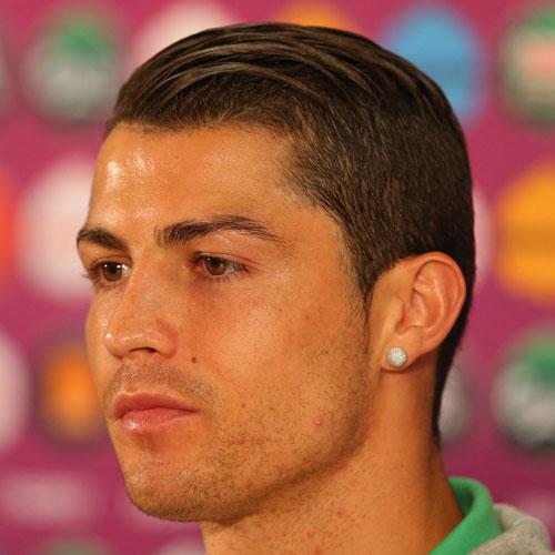 Cristiano Ronaldo peinados - Comb Over