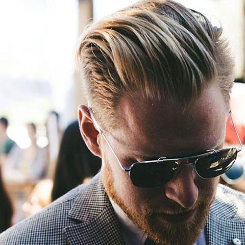 Corte de cabello rubio Para Hombres