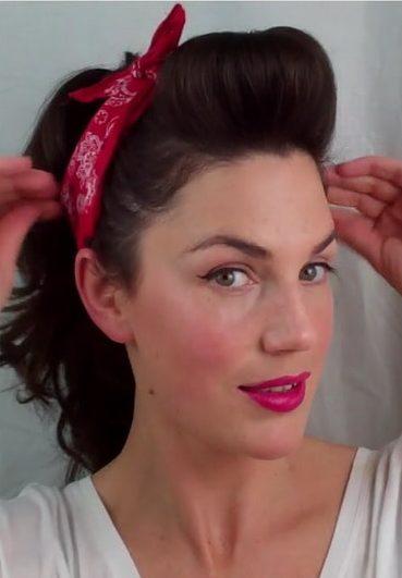 Easy Pin del vintage encima Peinados para mujeres 1-min