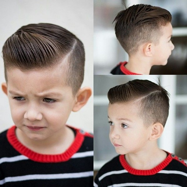 Straight Cormorán Niños peinado