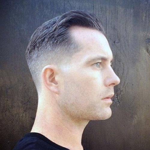 Corte de cabello para Individuos con rayitas del retroceso