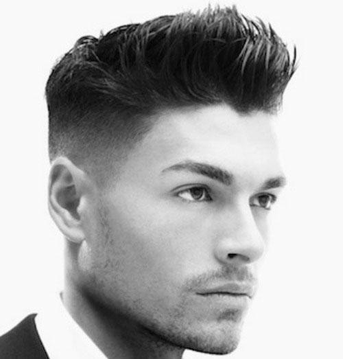 Alto desvanecimiento del corte de pelo