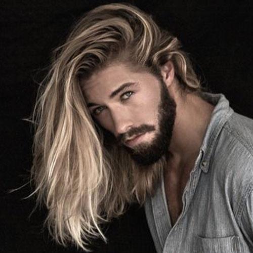Hot Guys con Blonde peinados