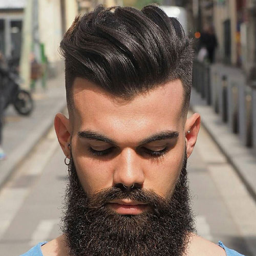 ya los hombres peinados