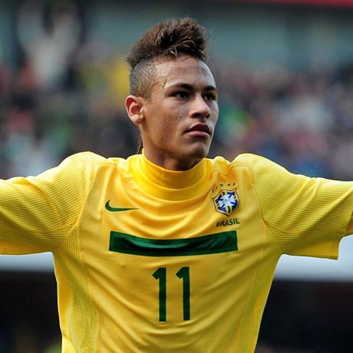 Neymar peinado - Mohawk