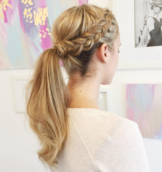 Ponytails-with-braids-on-gorgeous-girls
