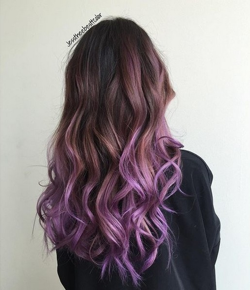 Pretty Hair Color , Ombre Balayage peinados con el pelo largo