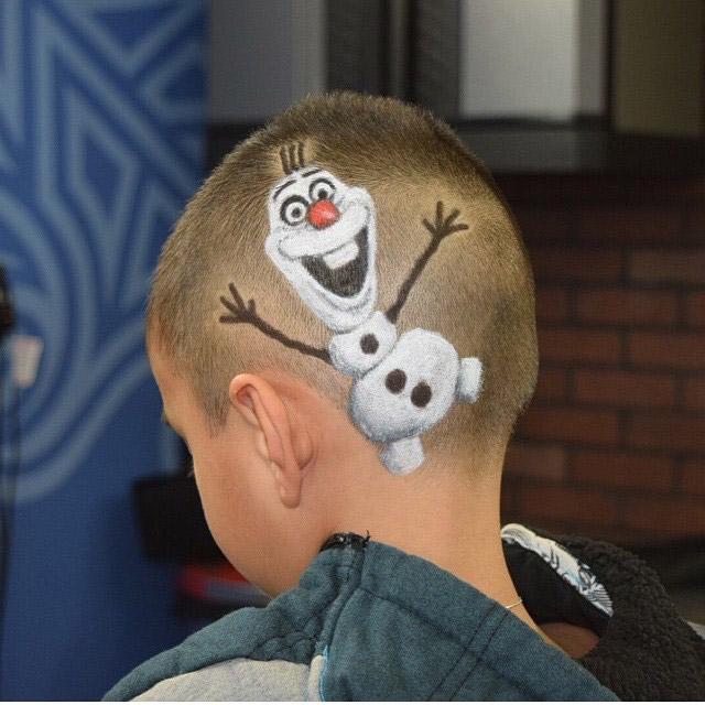 Corte de cabello para los niños -