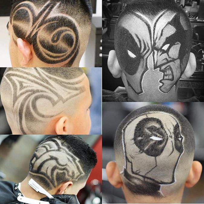 Corte de cabello para los niños - Superhero Cut