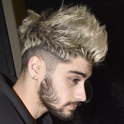 Zayn Malik peinado