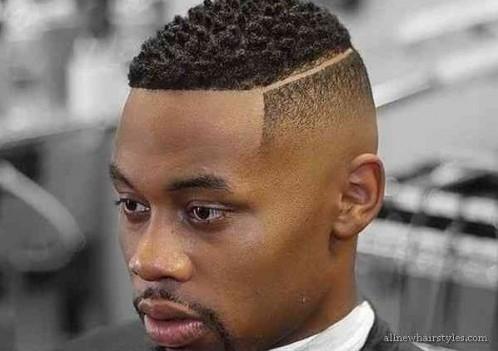 fade forma cónica con cortes de pelo de baja