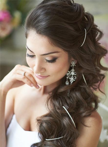 peinados para novia de la boda