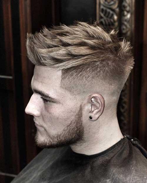 Hombres peinados Funky-16