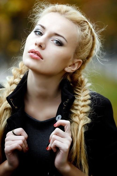 trenzado peinados para el pelo largo 20161