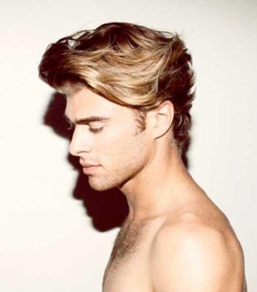 Los peinados para pelo ondulado de Hombres-14