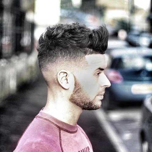 Hombres Funky peinados-17