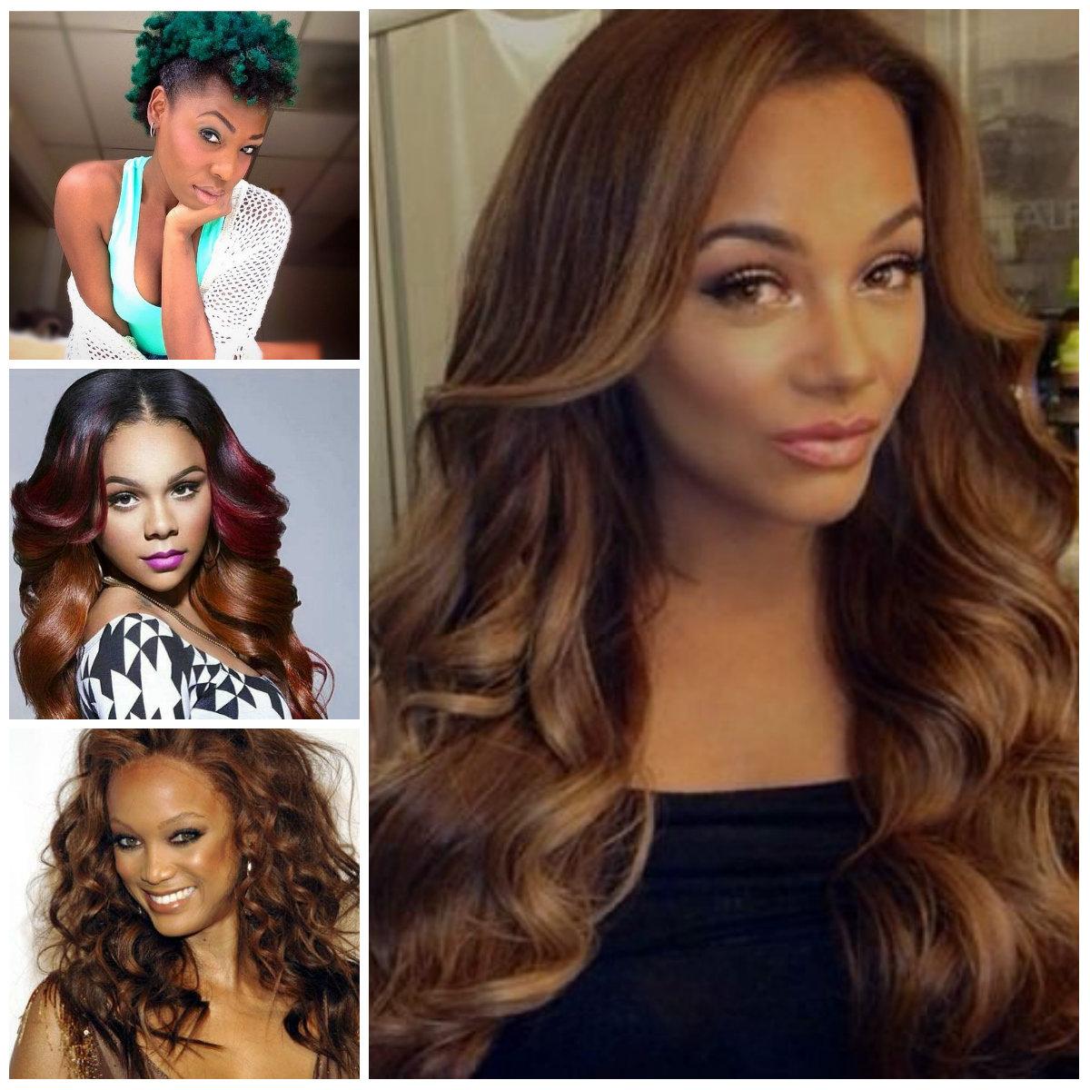 2016 ideas de color de pelo para las mujeres negras