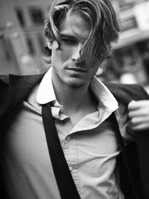 Los peinados para pelo ondulado de Hombres-25