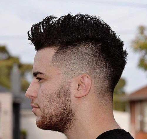 estilo Mohawk corte de pelo para los hombres-8