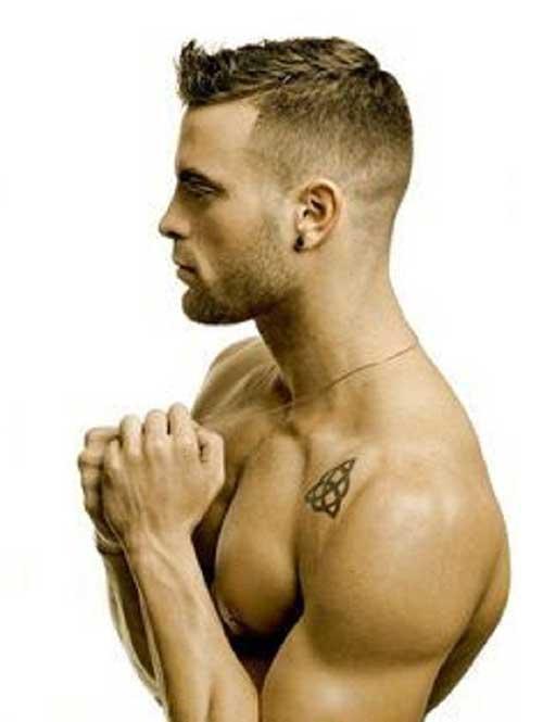 Hombres cortes de pelo corto 2015-7