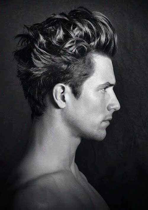 Los peinados para pelo ondulado de Hombres-10