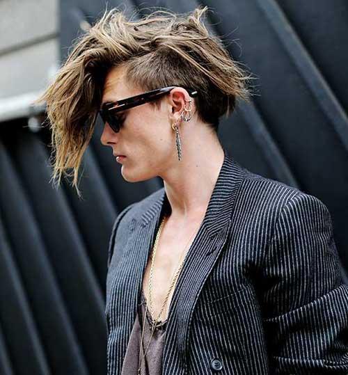 peinado con corte para los hombres