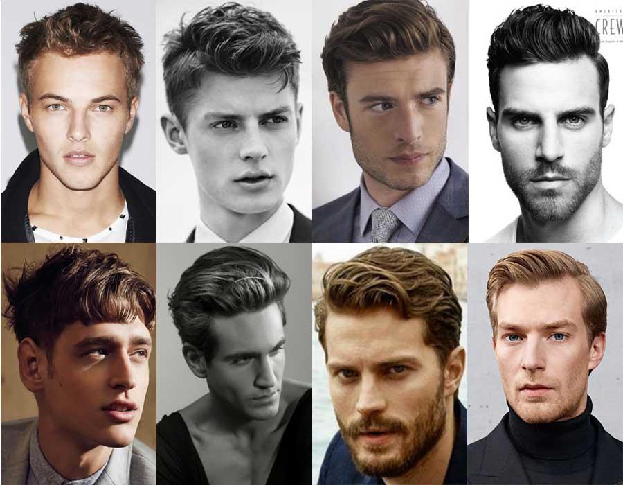 Hombres de onda peinados Catálogo 1