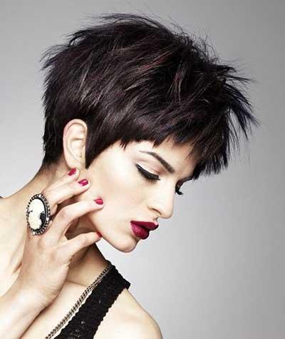mujeres más bellas cortes de pelo corto 1