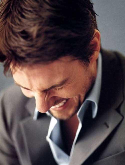 Tom Cruise Los pelos cortos-10