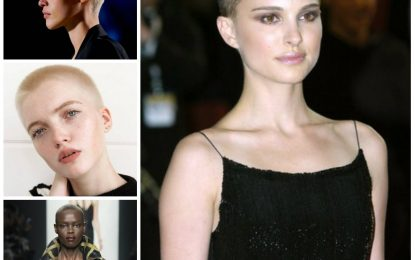 Mujeres Famosas Roca del zumbido del corte de pelo