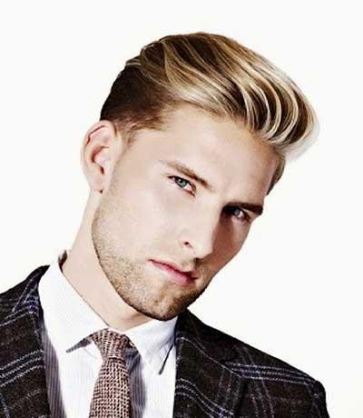 estilo americano de los hombres cortos peinados 2