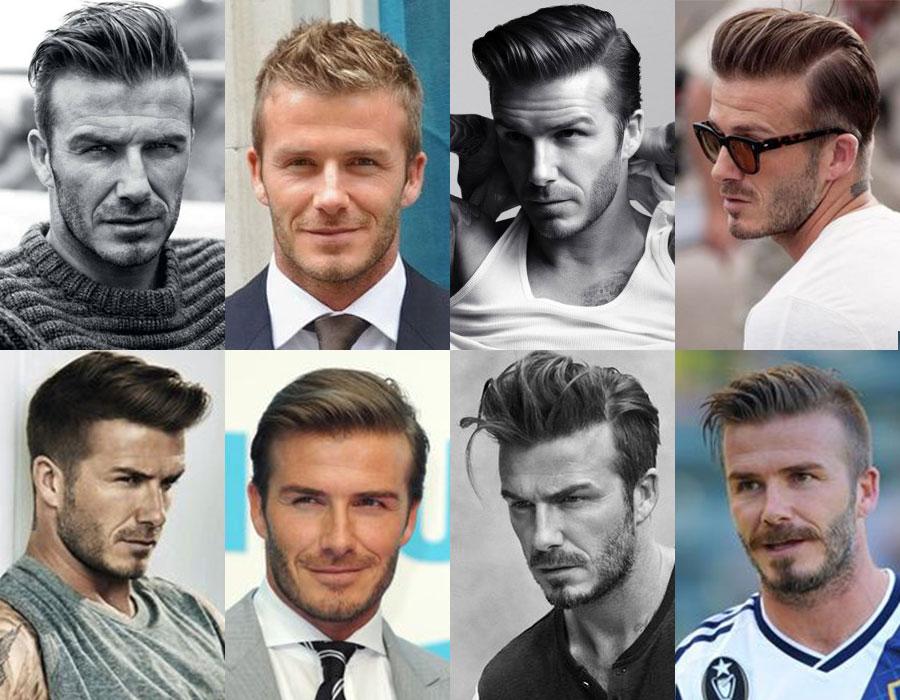 David Beckham peinados Catálogo