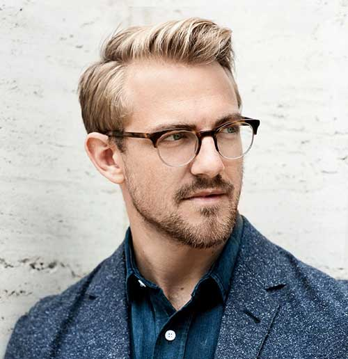 Gafas para hombre Peinados 4