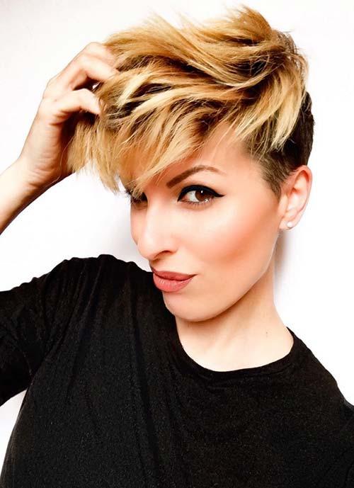 largo-corto cortes de pelo para las mujeres con pre-2017