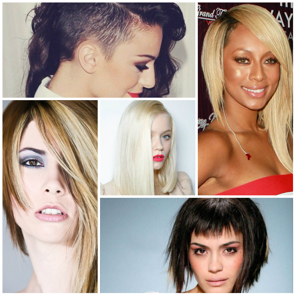 corte de pelo largo 2016 asymmetrica