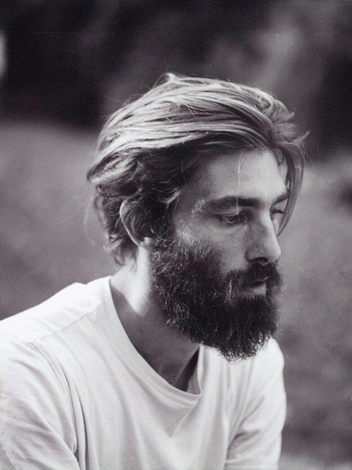 longitud media para hombre con la barba peinados 2016