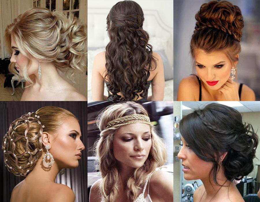 Catálogo de enganche hembra y peinados de boda