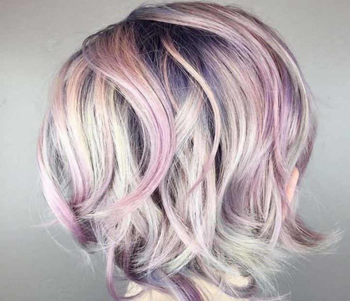 cortes de pelo corto de color 2017