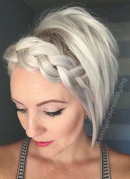 peinados trenzados de rare 2016 17 pelo corto