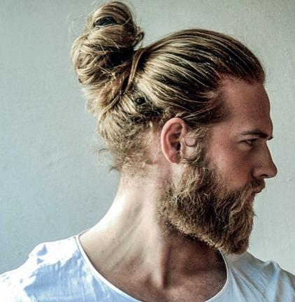 nudo superior para los hombres con barbas para el 2016