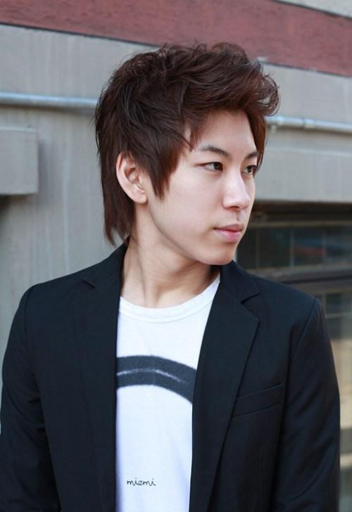 peinados coreanos para los muchachos jóvenes