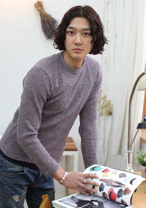 Imagen de peinados para hombre coreano