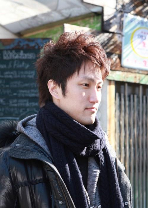 asiáticos de Corea peinados para hombre